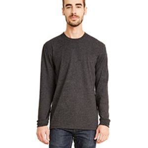 Unisex Sueded Long-Sleeve Crew Thumbnail