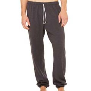 Unisex Sponge Fleece Long Scrunch Pant Thumbnail